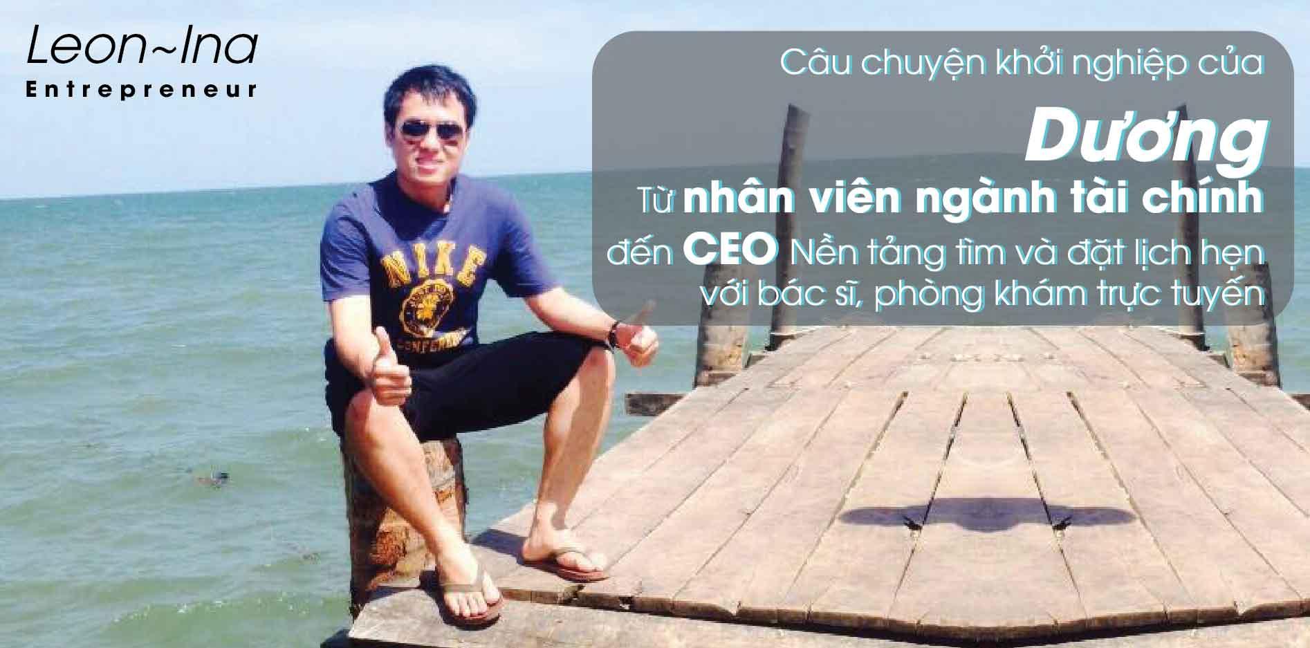 [Phần 1: Khởi nghiệp phần nổi] Từ nhân viên ngành tài chính đến CEO Nền tảng tìm và đặt lịch hẹn với bác sĩ, phòng khám trực tuyến Finizz